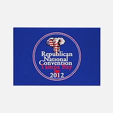 Republican Convention Rectangle Magnet