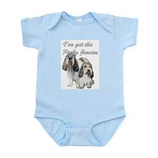 Two Pbgv's Infant Bodysuit