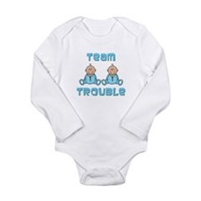 Twin Boys Onesie Romper Suit