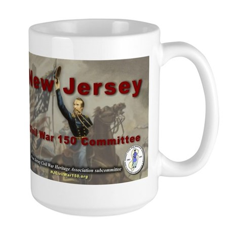 NJ Civil War 150 Kearny Large Mug