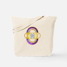 Pleadies 5D Crop-Circle Tote Bag