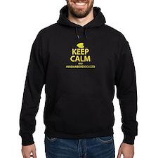 Keep Calm #VadaABordoCazzo Hoodie