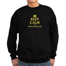 Keep Calm #VadaABordoCazzo Jumper Sweater
