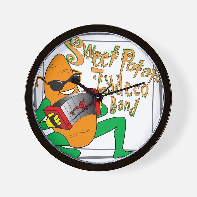 Cute Sweet potato Wall Clock