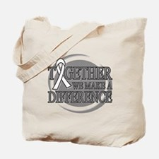 Lung Cancer Support Tote Bag