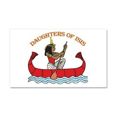 Daughters of Isis Car Magnet 20 x 12