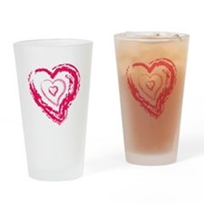Heart Inception Drinking Glass