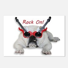 Rock On! Postcards (Package of 8)