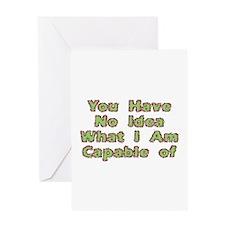 No Idea Greeting Card