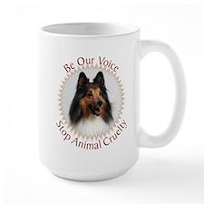 Be Our Voice Stop Animal Crue Mug