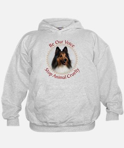 Be Our Voice Stop Animal Crue Hoodie