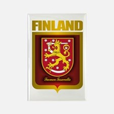 """Finnish Gold"" Rectangle Magnet"