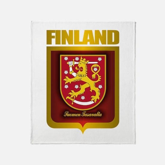 """Finnish Gold"" Throw Blanket"