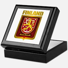 """Finnish Gold"" Keepsake Box"