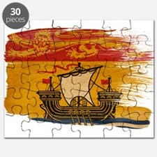 New Brunswick Flag Puzzle