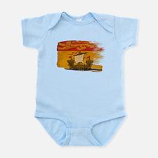 New Brunswick Flag Infant Bodysuit