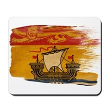New Brunswick Flag Mousepad