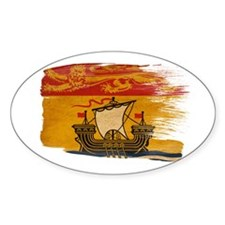 New Brunswick Flag Decal