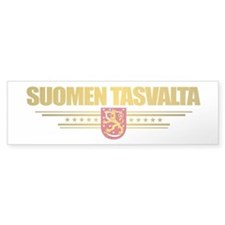 """Finnish Gold"" Bumper Sticker"