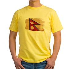Nepal Flag T