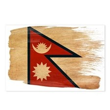 Nepal Flag Postcards (Package of 8)