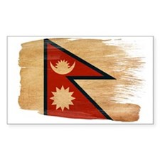 Nepal Flag Decal