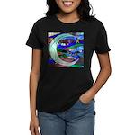Crescent Moon Women's Dark T-Shirt