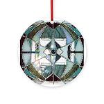 Abstract Mandala Ornament (Round)