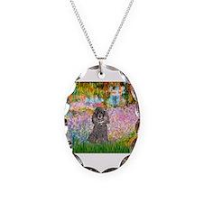Garden / Poodle (Silver) Necklace