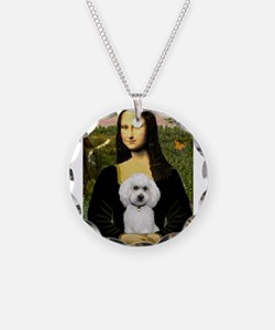 Mona Lisa / Poodle(w) Necklace