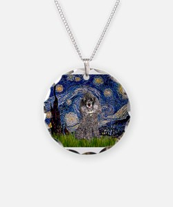 Starry Night / Poodle (s) Necklace