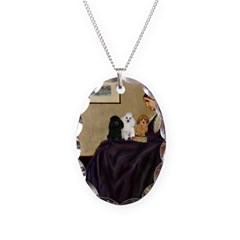 Whistler's / 3 Poodles Necklace