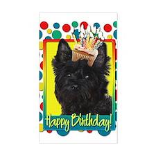 Birthday Cupcake - Cairn Decal