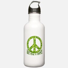 """""""Give Peas a Chance"""" Water Bottle"""