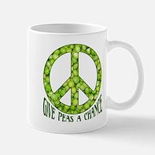 """""""Give Peas a Chance"""" Mug"""