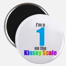 Kinsey Scale 1 Magnet