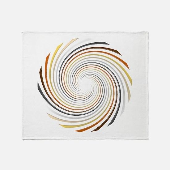 Bear Pride Spiral Throw Blanket
