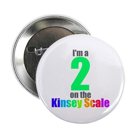 """Kinsey Scale 2 2.25"""" Button"""