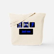 Eat, Sleep, Run Tote Bag