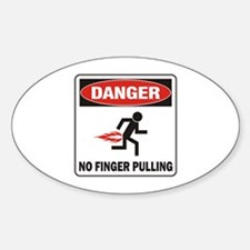 Finger Sticker (Oval)