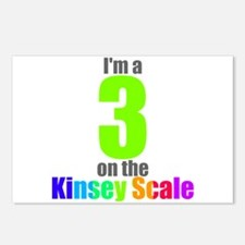Kinsey Scale 3 Postcards (Package of 8)