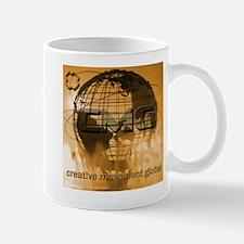 Creative Movement Globe Logo Mug