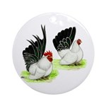 Japanese Bantams Ornament (Round)