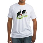 Japanese Bantams Fitted T-Shirt