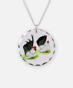 Japanese Bantams Necklace