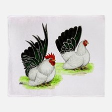 Japanese Bantams Throw Blanket