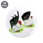 "Japanese Bantams 3.5"" Button (10 pack)"
