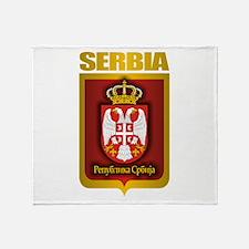 """Serbian Gold"" Throw Blanket"