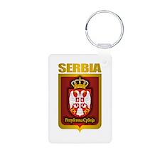 """Serbian Gold"" Keychains"