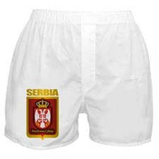 """Serbian Gold"" Boxer Shorts"